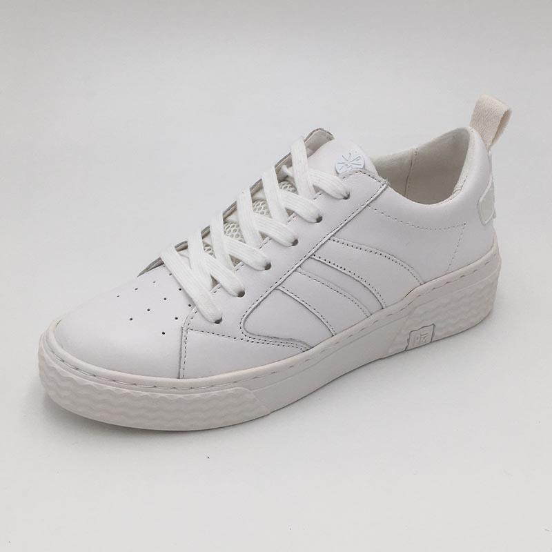 Blanc-minimaliste-cuir-Palladium-Basket-classic-TrendyShoes-Annecy