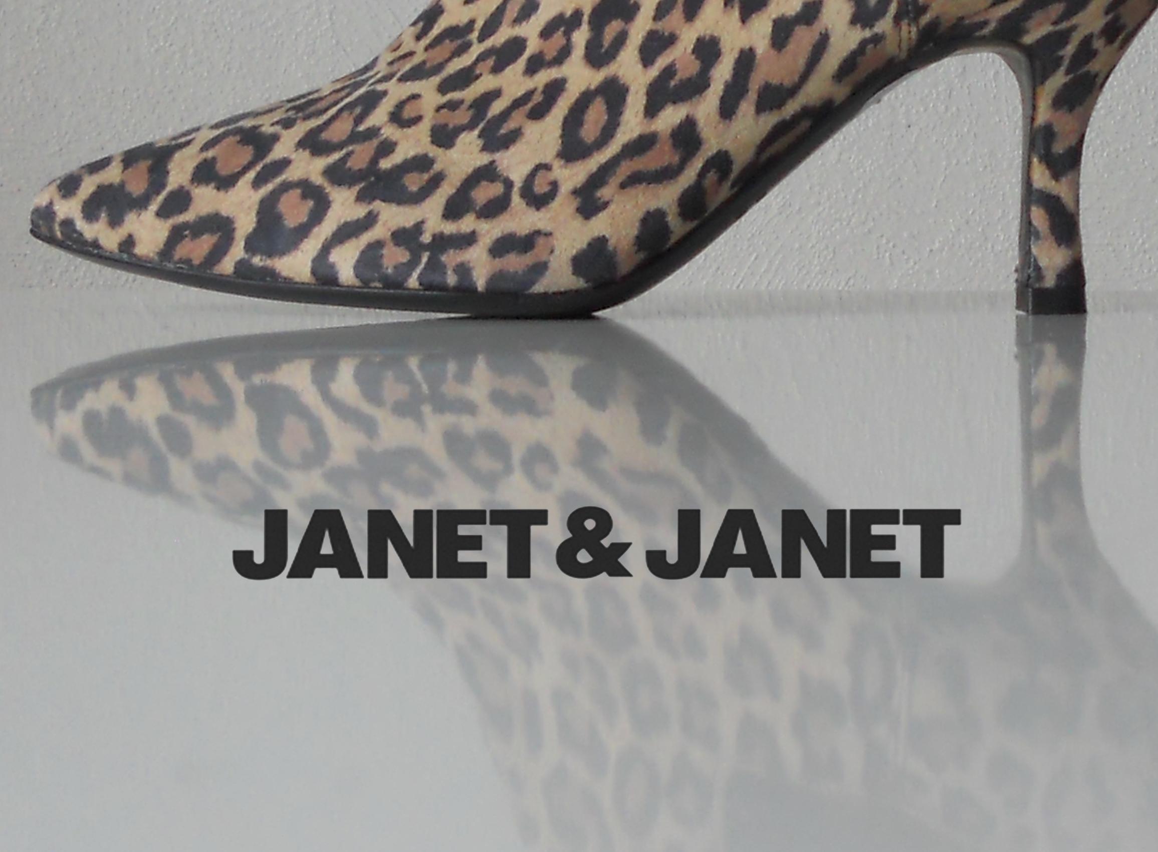 Janet et Janet - bottine chelsea typée léopard chez Chérie Chaussures à Annecy