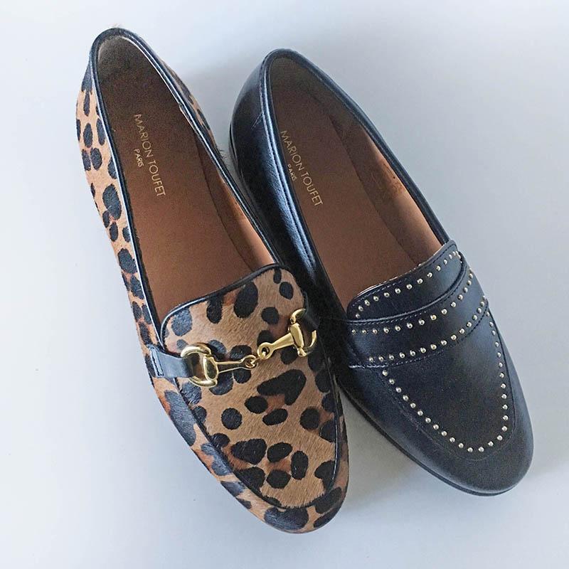 Marion Toufet - mocassin cuir chez Chérie Chaussures