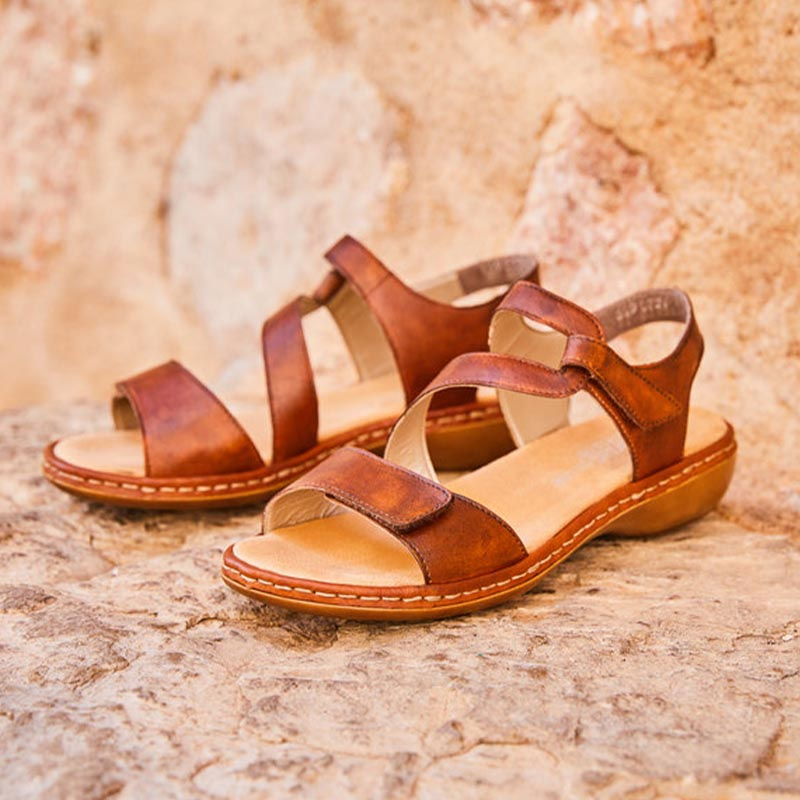 sandale Rieker-cuir-nature-confort-marche