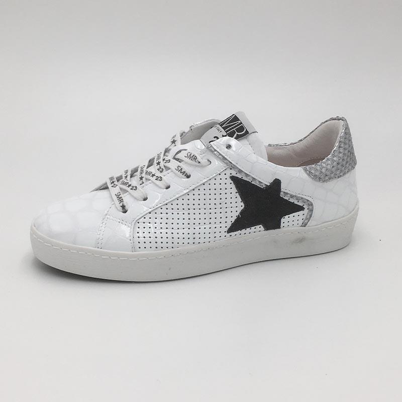 Basket-SMR-basic-etoile-cuir-blanc