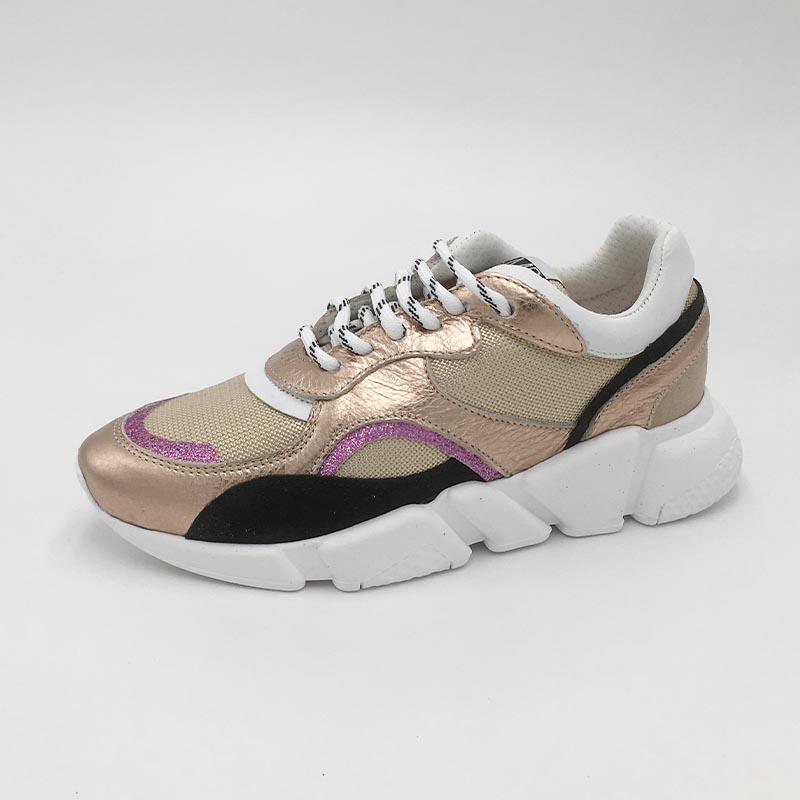 cuir-or-rose-sneakers-SMR-semelle-XXL-mode