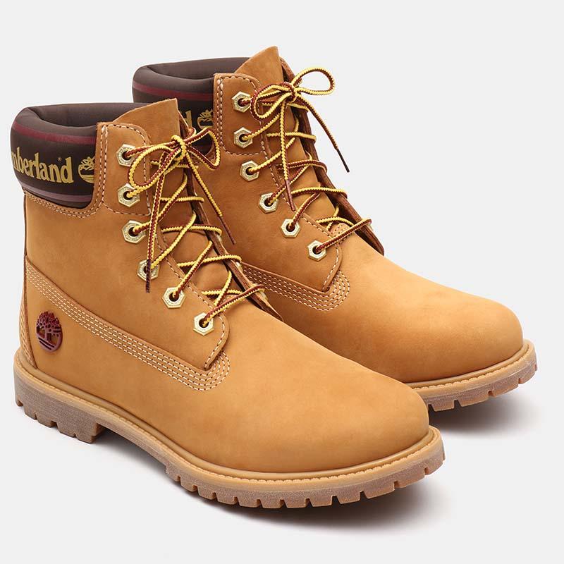Timberland chaussures - bottines à talon cuir beige - modèle 2